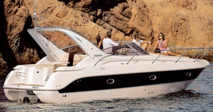 Rent a Sessa Marine C30 Barcelona