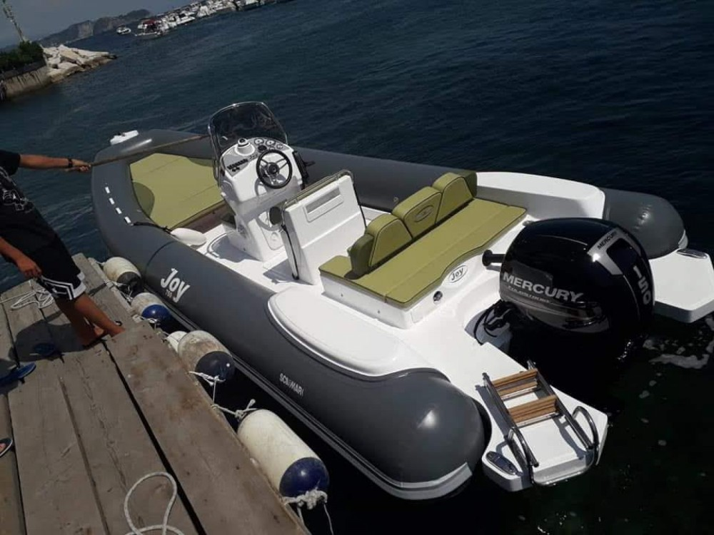 Hire RIB with or without skipper scamar Bacoli