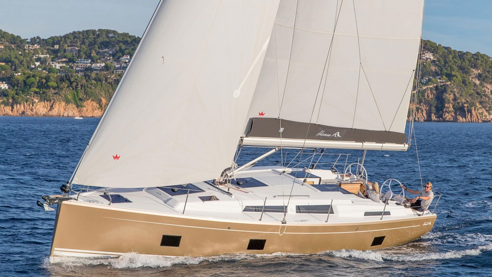 Rental Sailboat in Rogoznica - Hanse Hanse 418 - 3 cab.