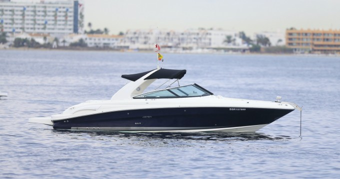 Hire Motorboat with or without skipper Sea Ray Ibiza Town