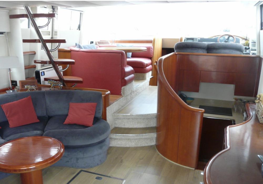 Rental yacht Argelès-sur-Mer - Fairline Squadron 55 on SamBoat