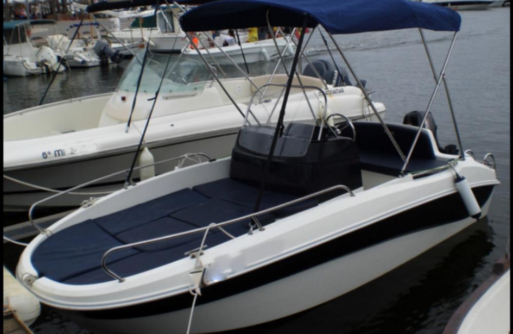 Rental Motorboat in Ciutadella - Remus Open 450