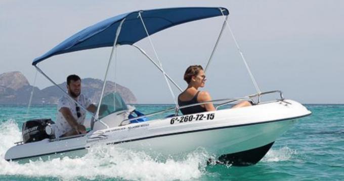 Rental Motorboat in Montsauche-les-Settons - Regiflex cap 400