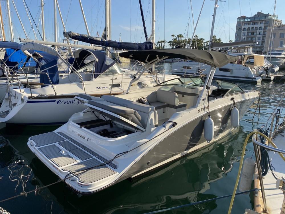 Rental yacht Cannes - Sea Ray SDX 270 on SamBoat