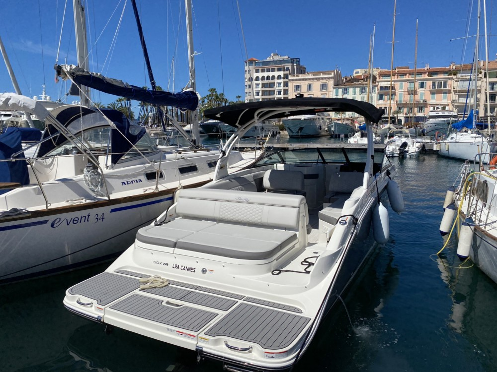 Rent a Sea Ray SDX 270 Cannes