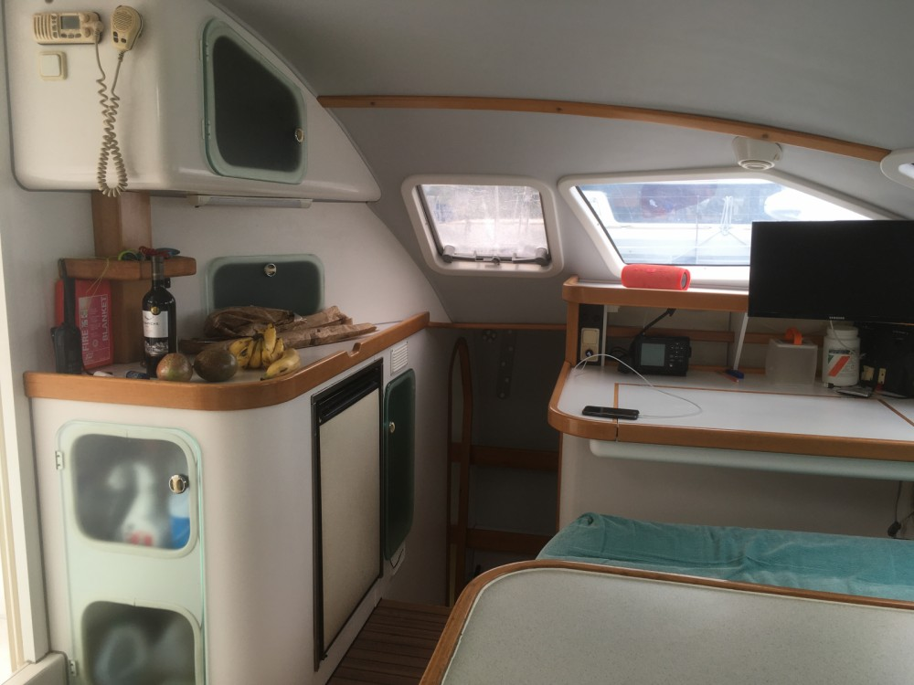 Boat rental Outremer 55 light in Sète on Samboat