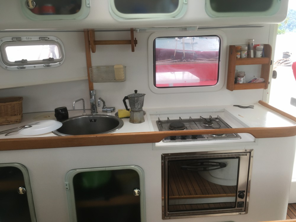 Rental Catamaran Outremer with a permit