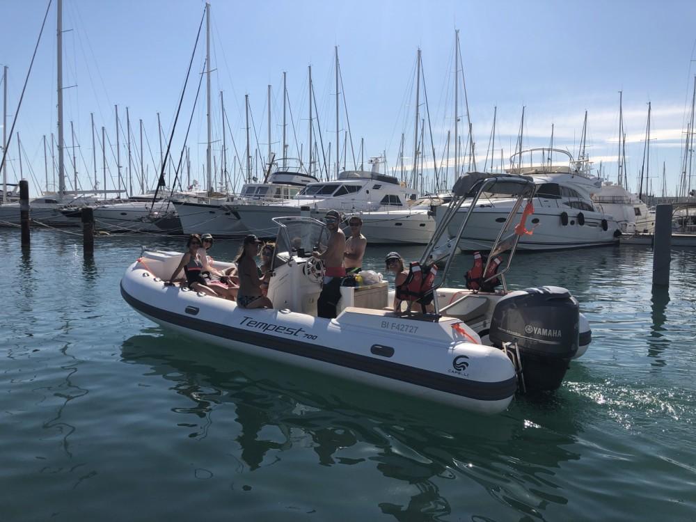 Boat rental Palavas-les-Flots cheap Tempest 700