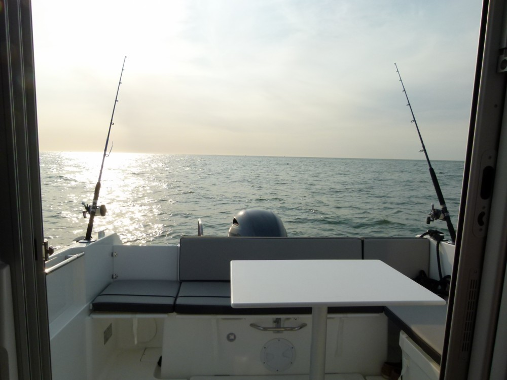 Boat rental Le Havre cheap Merry Fisher 695