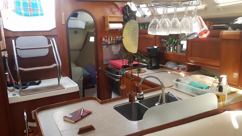 Rental Sailboat in Ajaccio - Hunter Hunter 40.5 Legend