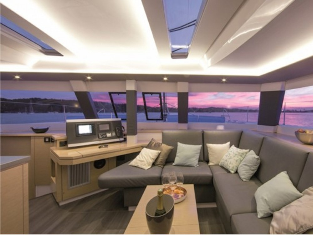 Fountaine Pajot Saba 50 between personal and professional
