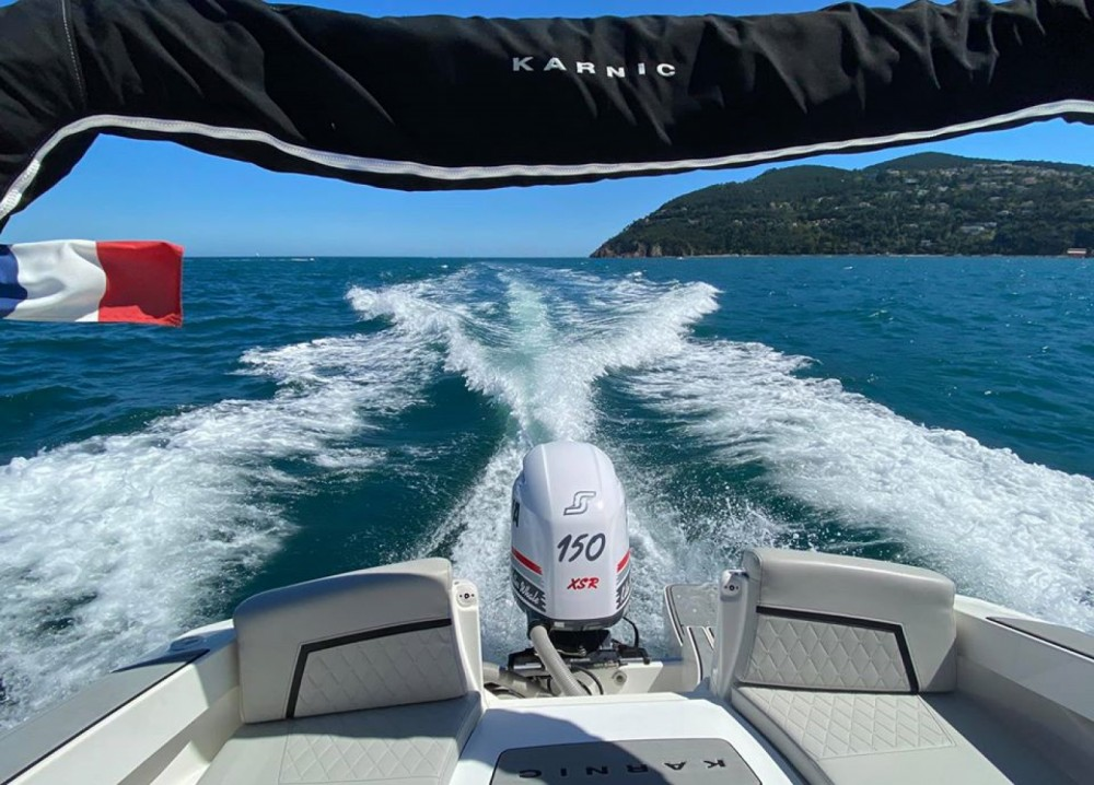 Hire Motorboat with or without skipper Karnic Mandelieu-la-Napoule
