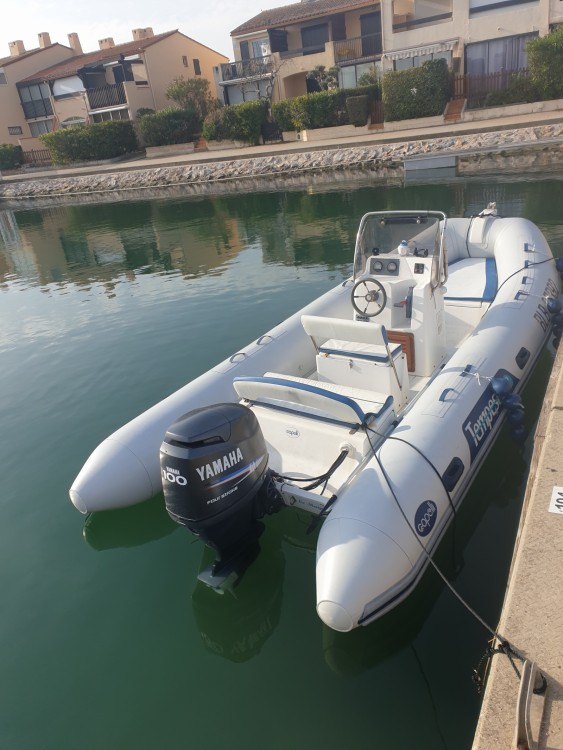 Hire RIB with or without skipper Capelli Saint-Cyprien