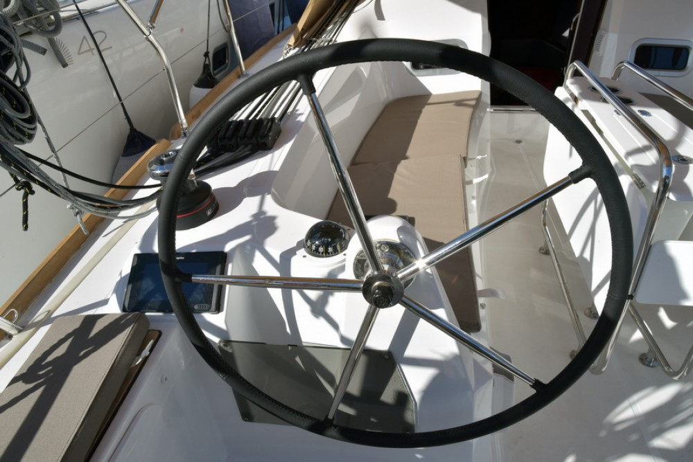 Jeanneau Sun Odyssey 349 between personal and professional Athens
