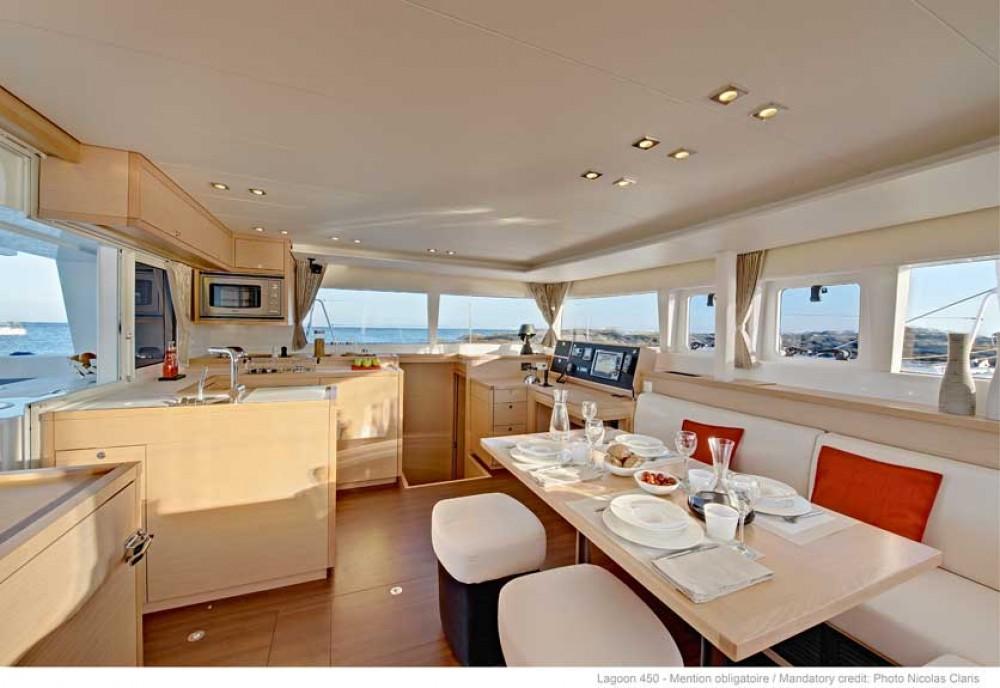 Rental Catamaran in Road Town - Lagoon Lagoon 450 F