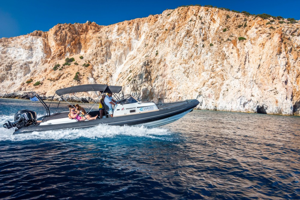 Next Boats Shearwater 890C between personal and professional Aegean