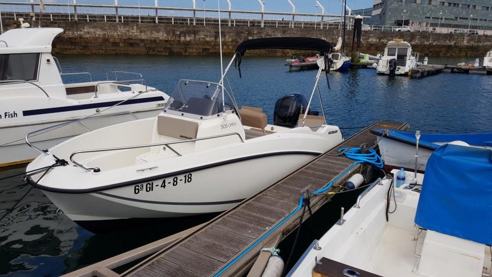 Rental Motorboat in Gijón - Quicksilver Activ 505 Open