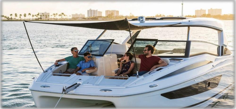 Rental Motorboat in Ibiza - AQUILA Aquila 32