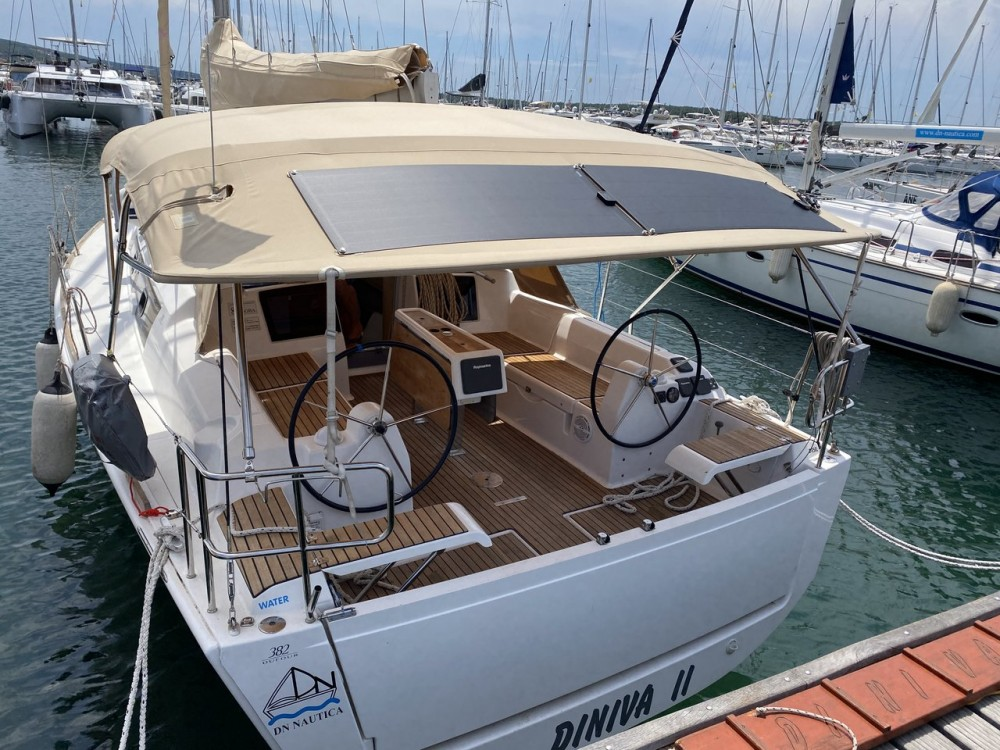 Dufour Dufour 382 Grand Large between personal and professional Croatia