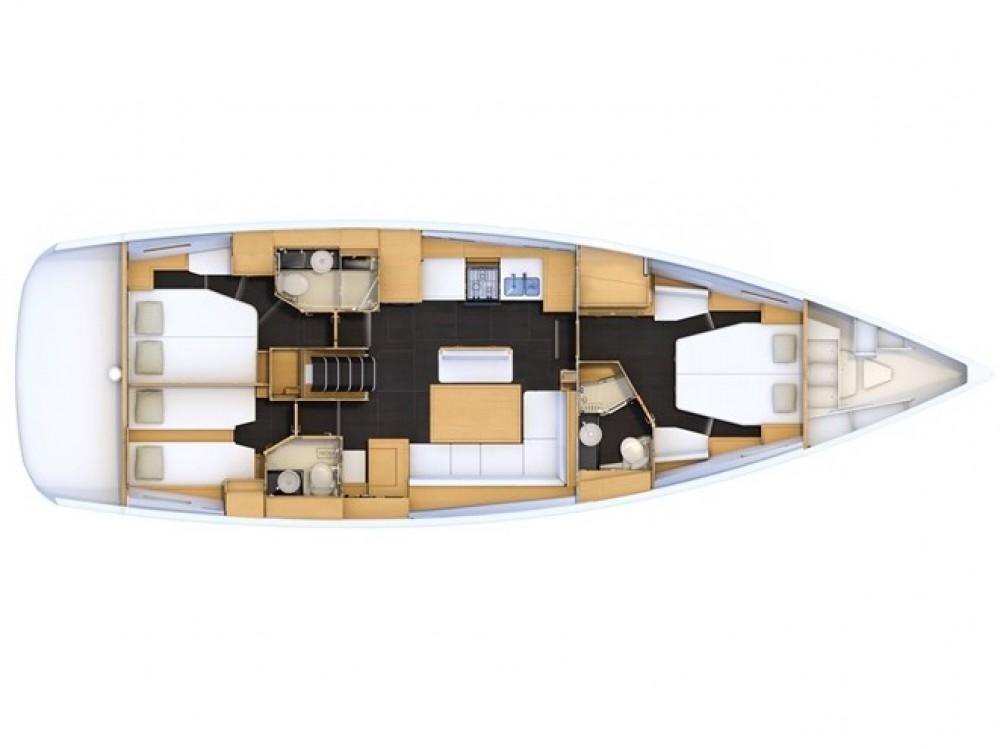 Boat rental Jeanneau Jeanneau 54 in Marmaris on Samboat
