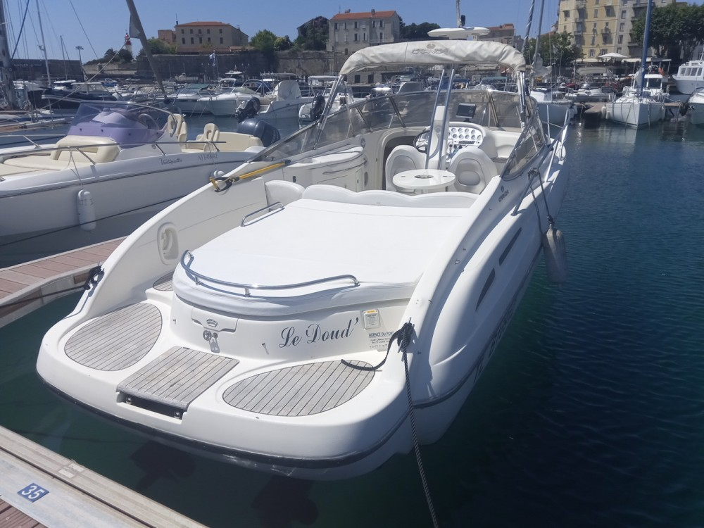 Boat rental Ajaccio cheap CSL 28