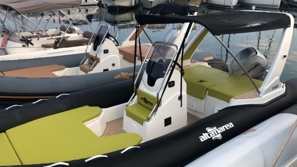 Hire RIB with or without skipper Altamarea Saint-Raphaël