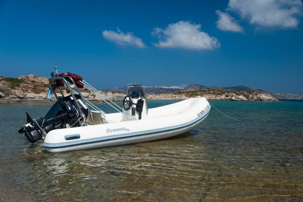 Hire RIB with or without skipper Oceanic Aegean