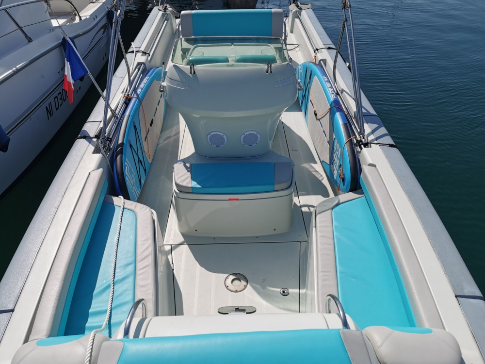 Hire Motorboat with or without skipper Expression Mandelieu-la-Napoule