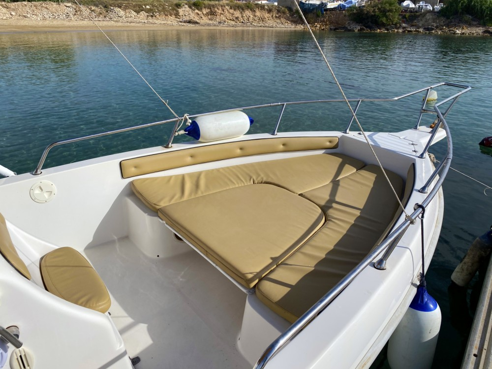 Hire Motorboat with or without skipper Aquamar Avola