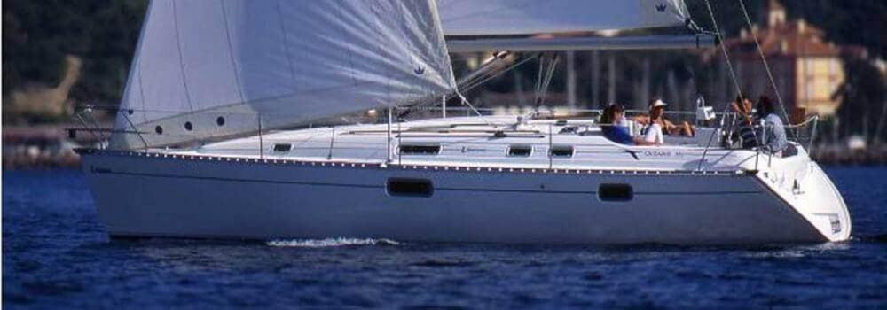 Boat rental La Roche-Bernard cheap Oceanis 351 Clipper