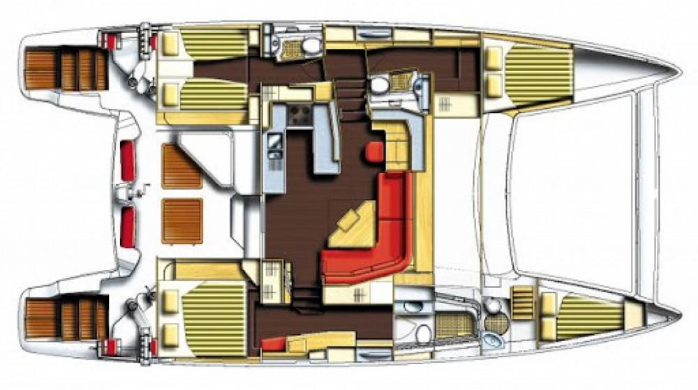 Boat rental Hyères cheap Catana 50