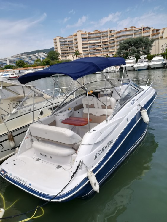 Rental yacht Mandelieu-la-Napoule - Four Winns Vista 258 on SamBoat