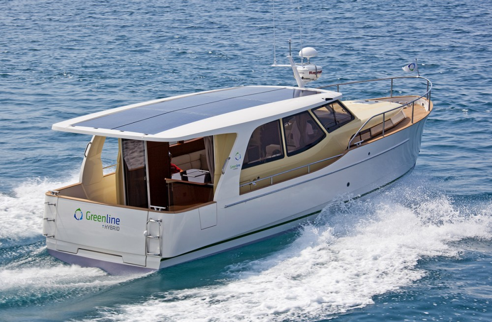 Rent a Seaway Yachts Greenline 33 Hybrid Palma