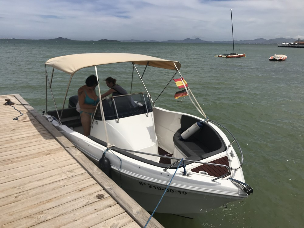 Hire Motorboat with or without skipper Oki Boats Los Alcázares