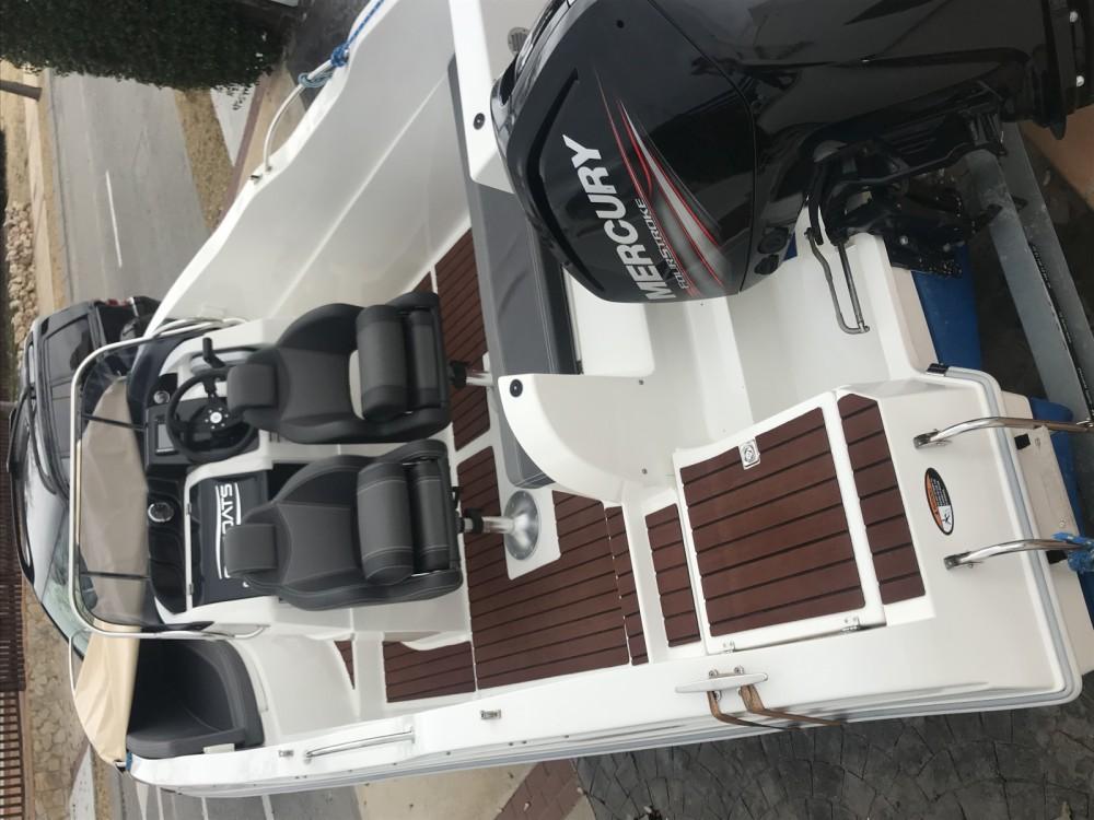 Boat rental Los Alcázares cheap Barracuda 545