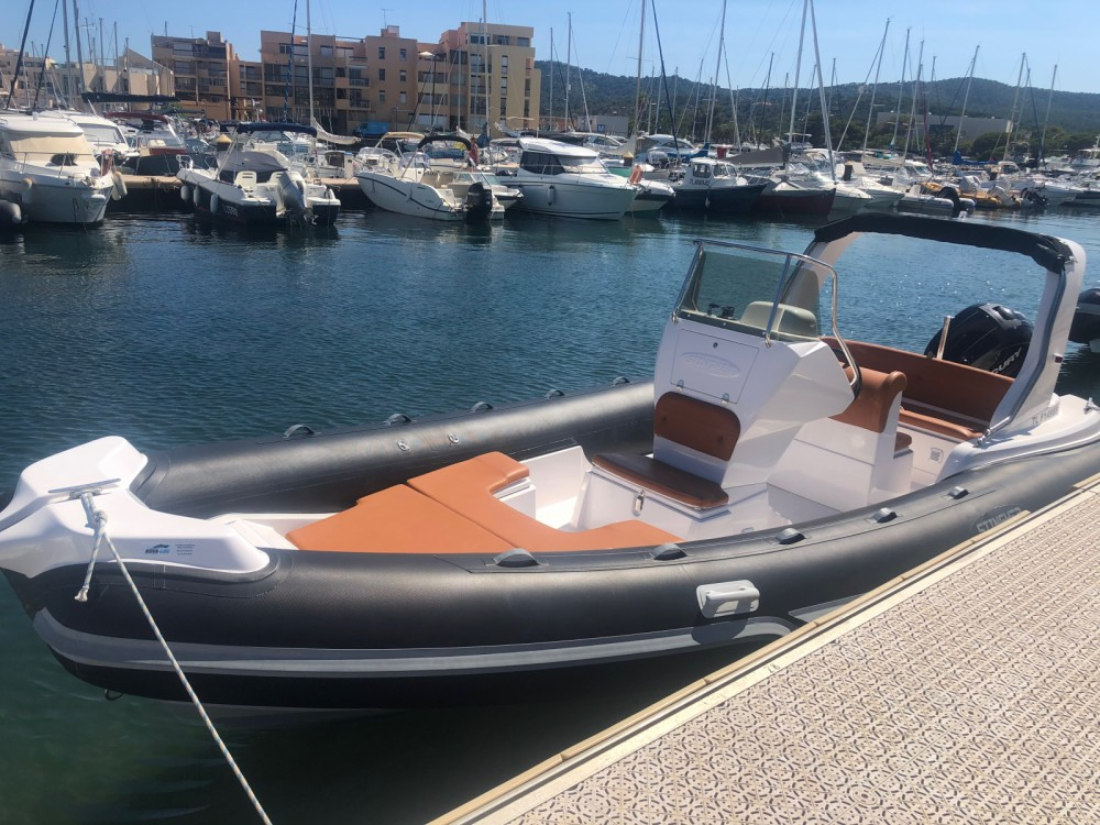 Italboats STHINGER 22 between personal and professional Bormes-les-Mimosas