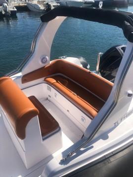 Rental RIB in Bormes-les-Mimosas - Italboats STHINGER 22