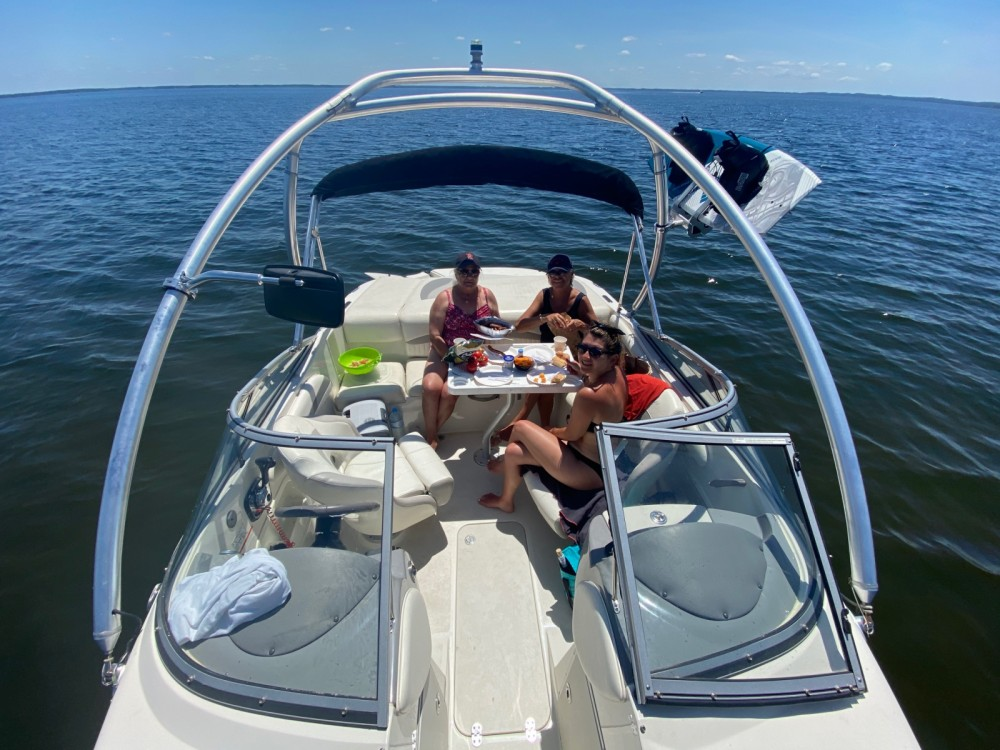 Boat rental Biscarrosse cheap 208cr