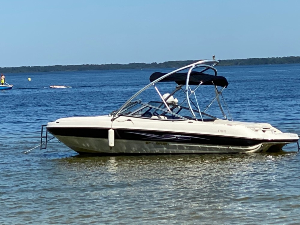 Hire Motorboat with or without skipper Stingray Biscarrosse