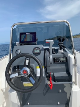 Hire Motorboat with or without skipper Compass Ormos Panagias