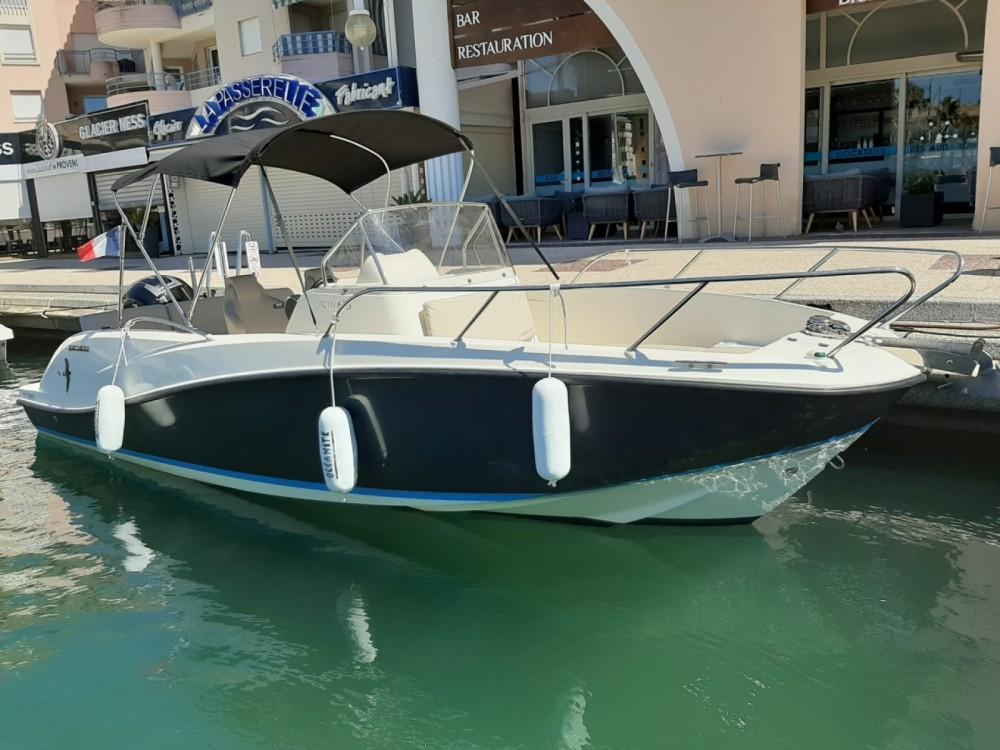 Rental Motorboat in Fréjus - Quicksilver Activ 675 Open