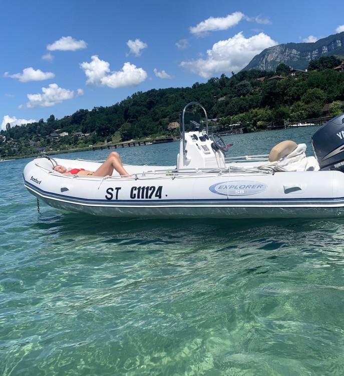 Rent a Bombard Explorer 530 Aix-les-Bains