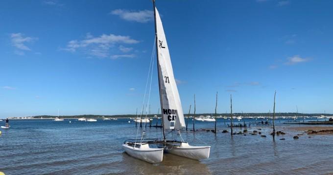 Rental Catamaran in Lège-Cap-Ferret - Hobie-Cat Hobie cat 15