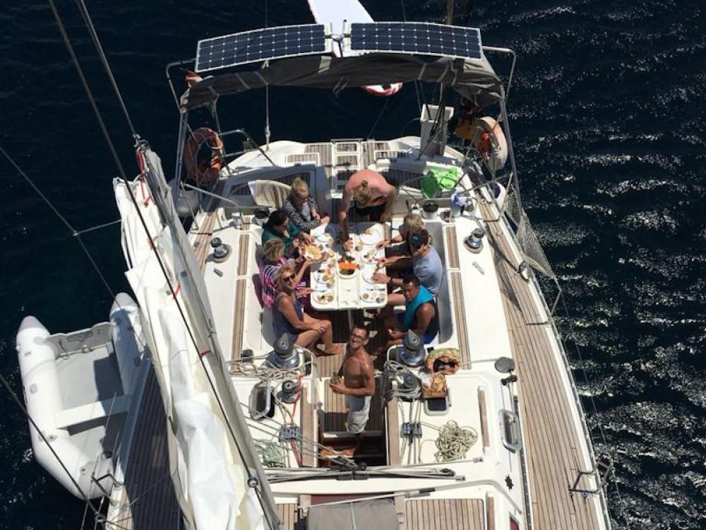 Boat rental Tropea cheap Sun Odyssey 51