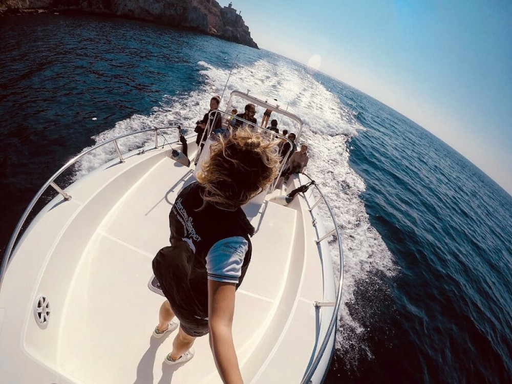 Hire Motorboat with or without skipper  Salvo Marina