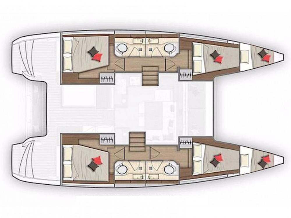 Rental yacht Capo d'Orlando - Lagoon Lagoon 40 on SamBoat