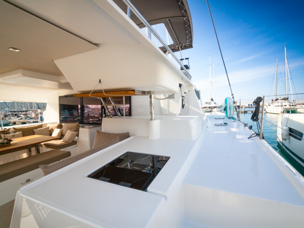 Rent a Fountaine Pajot Saba 50 Capo d'Orlando
