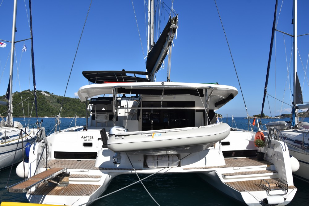 Boat rental Skiathos cheap Lagoon 42 (AC, Gen, Watermaker)