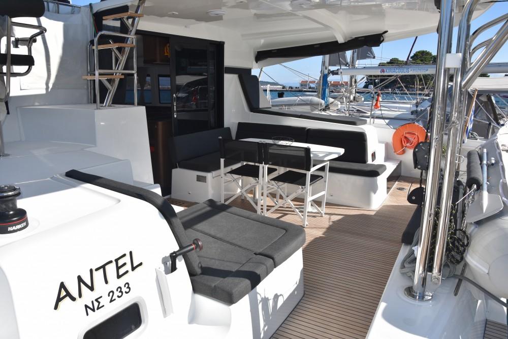 Rental Catamaran in Skiathos - Lagoon Lagoon 42 (AC, Gen, Watermaker)