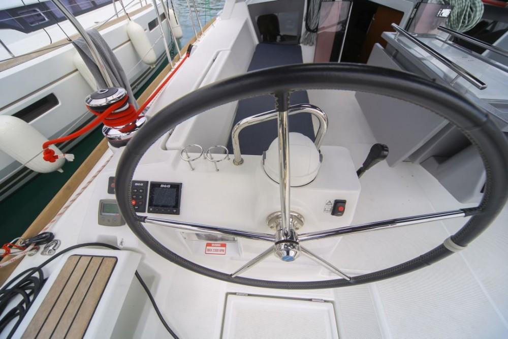 Boat rental Olbia cheap Oceanis 45